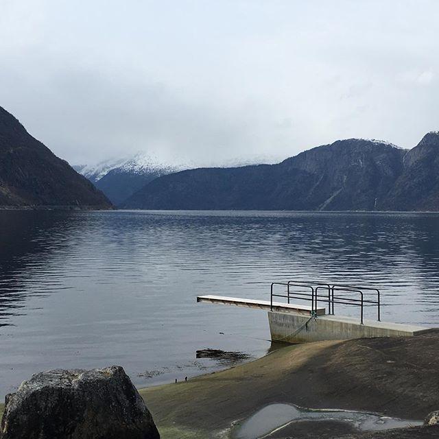 #eidfjord – leider zu kalt zum Schwimmen #aidavita #aidaselection #travelingactress