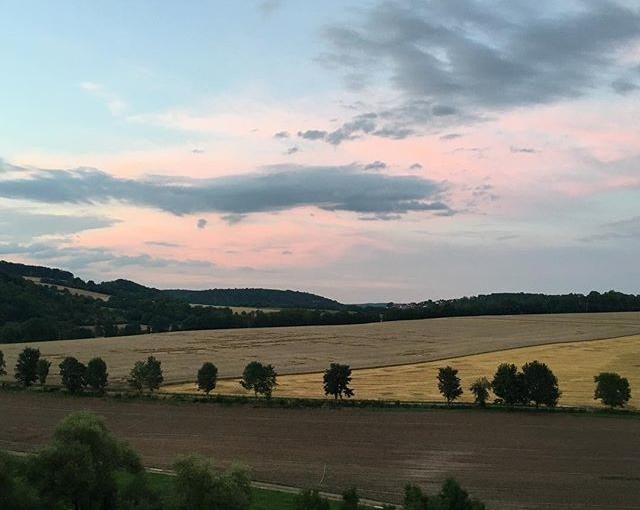Landschaft, die aussieht, wie ein #romantisches #gemälde … #landscape like a #romanticpainting  #travellingactress