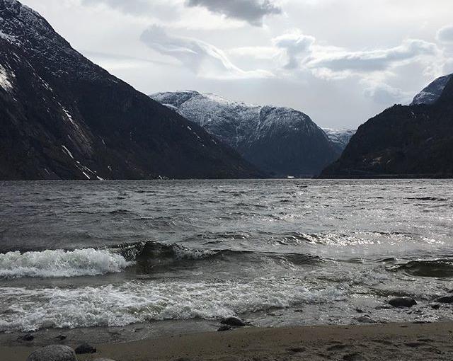 #sturm in #eidfjord #travellingactress #aida #aidavita #aidaselection